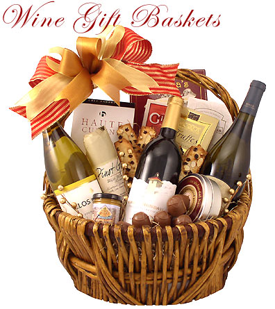 Shop for Wine Gift Baskets